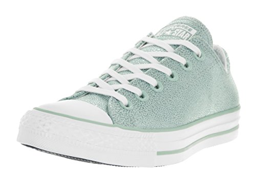 Converse Chucks 553347C CT AS Sting Ray cuir Mint Green Metallic Glacier Blanc Noir Metallic Glacier Black White