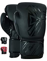 ALPHA FORCE 3.0 Boxing Gloves Muay Thai Training Sparring Punching Bag Mitts kickboxing Fighting