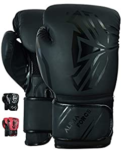 ALPHA FORCE 3.0 Boxhandschuhe Muay Thai Training Sparring Boxsack Mitts...