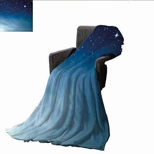 """PearlRolan Stranddecke, Nachthimmel, Bäume mit vielen Sternen, gemütlicher und langlebiger Stoff, maschinenwaschbar 50\""""x70\""""(W130cmxL180cm) Color10"""