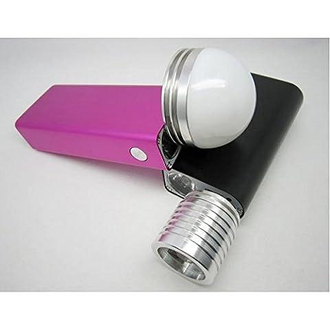 3W USB Mobile linterna LED 50M lámpara del proyector portátil.
