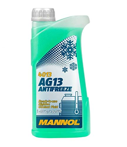 MANNOL Antifreeze AG13-40 Kühlerfrostschutz Kühlmittel, 5 Liter