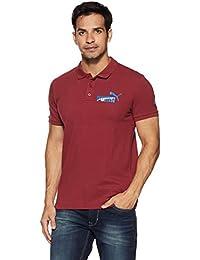Puma Men's Solid Regular Fit Cotton Polo