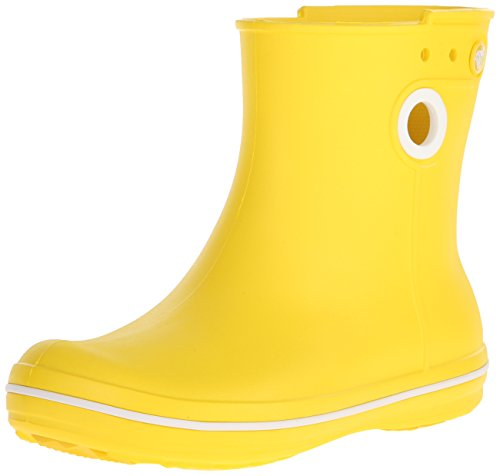 crocs Freesail Shorty Rain Boots, Damen Gummistiefel, Gelb (Lemon), 38/39 EU