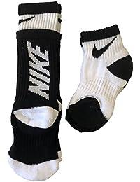 Nike - Calcetines para niño, diseño de Cuadros, 2 Unidades, 13C-3Y