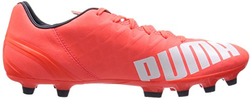 Puma  evoSPEED 4.4 AG, Chaussures de football mixte adulte Orange - Orange (lava blast-white-total eclipse 01)
