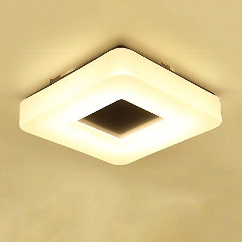 Led plafoniera luce bianca, moderna plafoniera plafoniera lampada da parete spazioso camera da letto soggiorno hotel hall decorazione ceiling light mdash,28cm * 28cm
