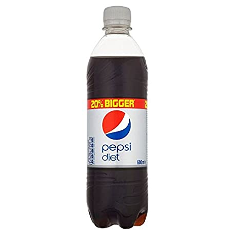Pepsi Dieta 600ml Paquete de 2