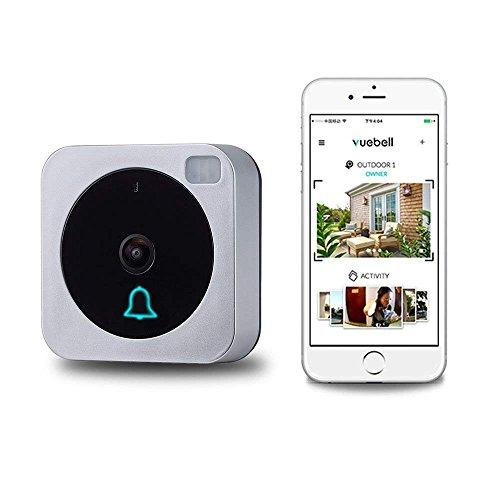 Türklingel HD Video Kompatibel mit Alexa Echo Show smart Türklingel WiFi Drahtlose Türklingel mit Kamera Nacht Version IR Motion Detection Alarm für IOS / Android