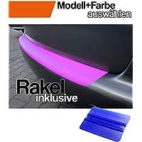 Einstiegsleisten Set mit Ladekantenschutz mit RAKEL in 3D Carbon Schwarz Schutzfolie von WIZUALS/©