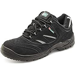 B-Click Footwear Trainer Safety Shoes Black