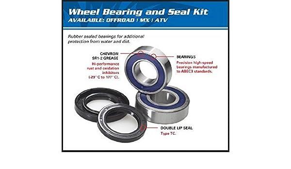 Yamaha Beartracker 250 YFM250 2001-2004 Front Wheel Bearings And Seals