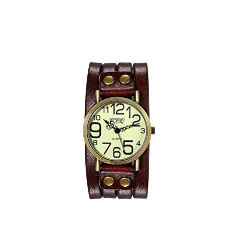 Avaner Reloj de Pulsera Grande Punky Rock para Hombres Reloj Grande Co