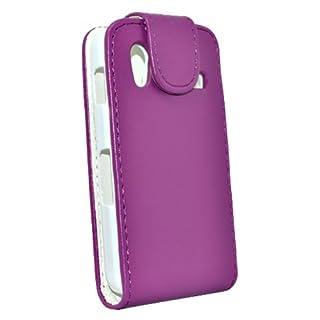 Accessory Master Elegantes Leder Tasche für Samsung Galaxy Ace S5830 lila