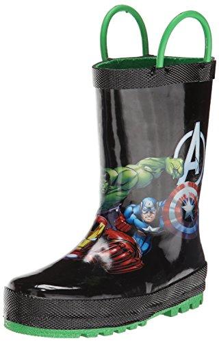 Western Chief Avengers Force Caoutchouc Botte de Pluie Black