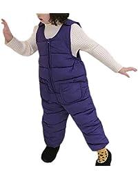 oneforus Pantalones de Invierno Unisex para niños