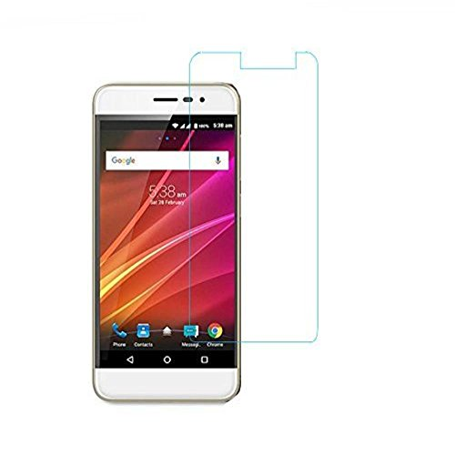 SNOOGG Panasonic ELUGA NOTE (3GB)- THE ABSOLUTE SMARTPHONE The Best clear Tempered Screen Glass Guard