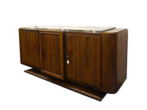 Art Deco Sideboard (Antike Fundgrube Sideboard Anrichte Art Deco Schrank französisch um 1925 Palisander B 230 (4845))