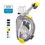 Unigear Maschera da Snorkeling, Maschera Subacquea con Apertura a 180 ° Ampia visibilità Anti-Perdita Anti-Appannamento per Donna e Uomo