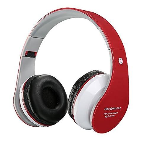 Casque sans fil Bluetooth pour enfants Casques rechargeables rétractables Écouteur