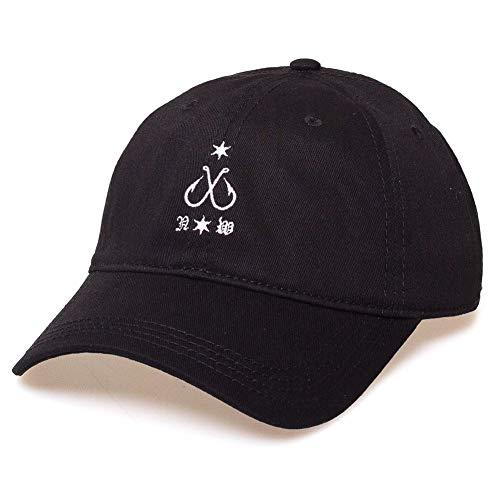 Imagen de grimey  x natos y waor curved visor negro ajustable