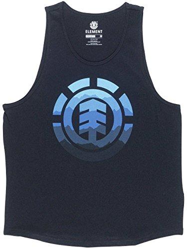 Element Herren Hues Tank Shirts & Hemden Flint Black