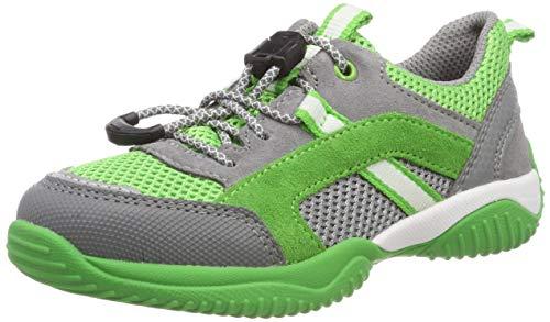 Superfit Jungen Storm Sneaker, (Grau/Grün 25), 28 EU - Grau Grün Und Sneakers