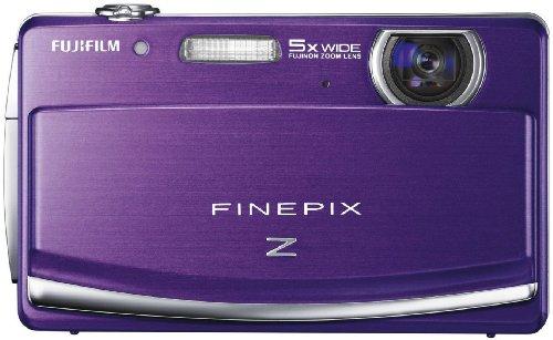 Fujifilm FINEPIX Z90 Digitalkamera (14 Megapixel, 5-fach opt. Zoom, 7,6 cm (3 Zoll) Display) violett