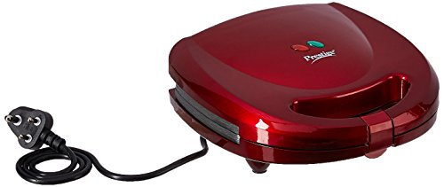 Prestige 41492 700-watt Sandwich Toaster (red)