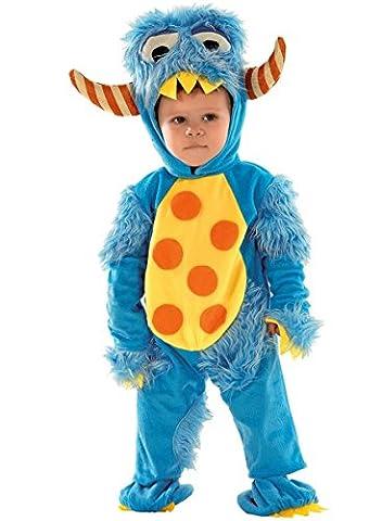 Babykostüm Monster, Kinderkostüm Monster, Monsterkostüm, Größe:86