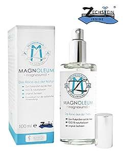 Magnesiumöl Spray - Zechstein inside in der Glas-Sprühflasche - Dermatologisch klinisch getestet - Magnesium-Sole - Magnesiumchlorid - Magnesium Öl / Oil natürlich