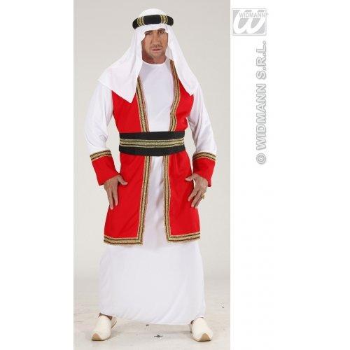 Prinz Erwachsene Für Kostüm Arabischer - WIDMANN wdm89181-Kostüm für Erwachsene arabischen Prinz, mehrfarbig, S