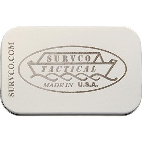 Survco Tactical ULTIMATE SURVIVAL TIN Ultimate Survival Tin