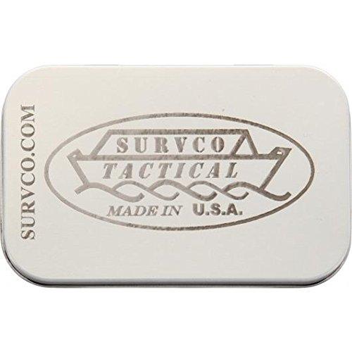481af91ba46 Survco Tactical ULTIMATE SURVIVAL TIN Ultimate Survival Tin
