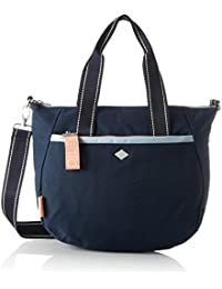 Oilily - Groovy Handbag Mhz, Bolso Mujer, Azul (Dark Blue), 15x25x33 cm (B x H T)