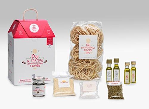 LA CENA TOSCANA My Cooking Box x5 porzioni Pici al tartufo - idee regalo cesto