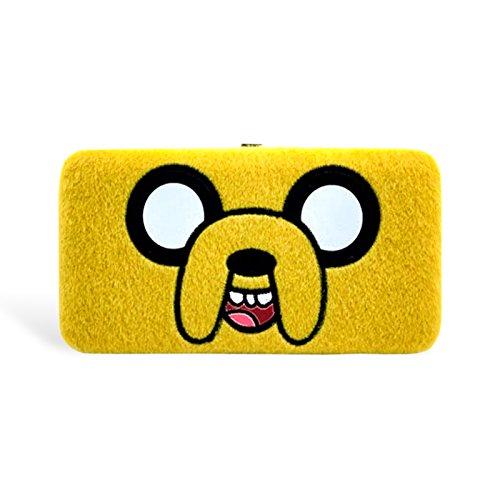 Adventure-Time-Jake-Designer-Geld-Brse-Geldbeutel-Portemonnaie-Original-Lizensiert