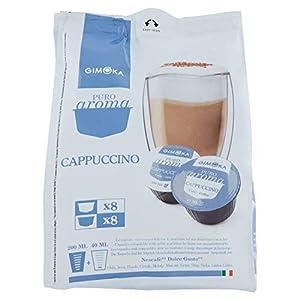 64 Capsule Gimoka Compatibili con Nescafé®* Dolce Gusto®* - 4 Confezioni da 16 Capsule - Cappuccino