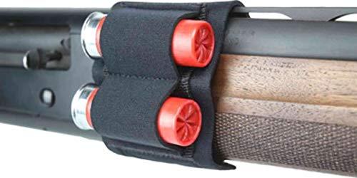 Beartooth Products Munitionsträger aus Neopren mit 2 Patronen für Schrotflinten Schwarz (20-gauge Schrotflinte Zubehör)
