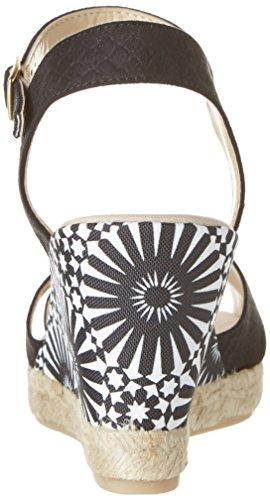 Desigual Damen Shoes_bahia Plateau Schwarz (2000 NEGRO)