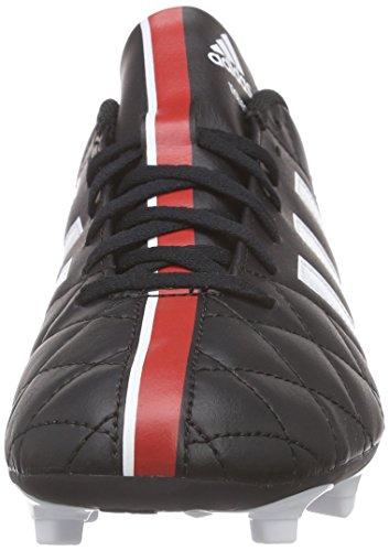 adidas 11questra Fg, Chaussures de football homme Noir - Schwarz (Schwarz/Weiß/Rot 000)