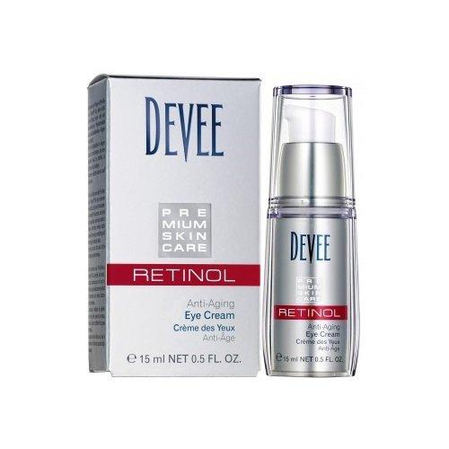 Devee Retinol Augencreme Anti-Aging Eye Creme mit Hyaluronsäure 15 ml