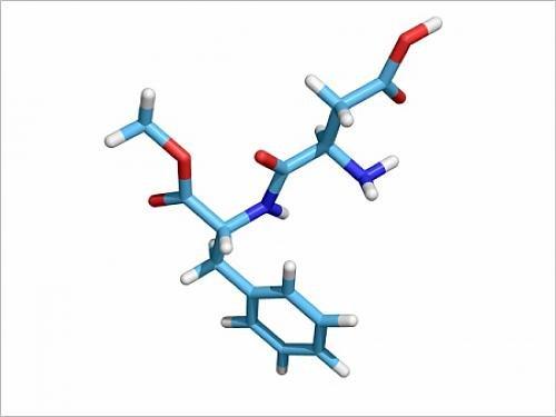 photographic-print-of-aspartame-molecule