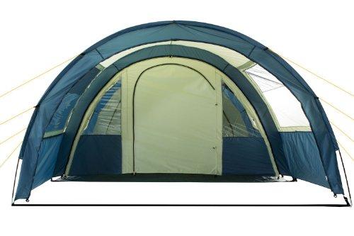 CampFeuer - Tunnelzelt mit 5000 mm Wassersäule, Bodenplane und versetzbarer Wand -