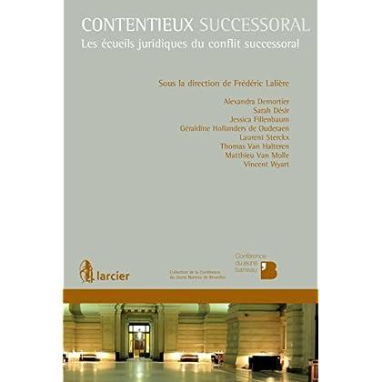 Contentieux successoral (Collection de la Conférence du Jeune Barreau de Bruxelles)