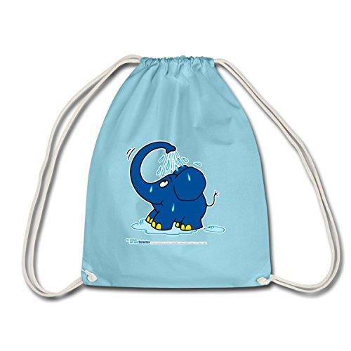 Spreadshirt Sendung Mit Dem Elefanten Kleiner Elefant Dusche Turnbeutel, - Elefanten-dusche
