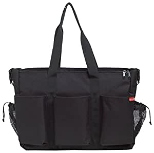 Skip Hop Duo Double Changing Bag - Black