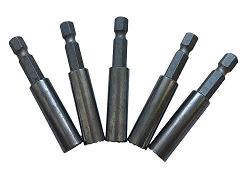 5x Bithalter Magnetisch für Akkuschrauber/Schraubmaschine - Bit Halterung