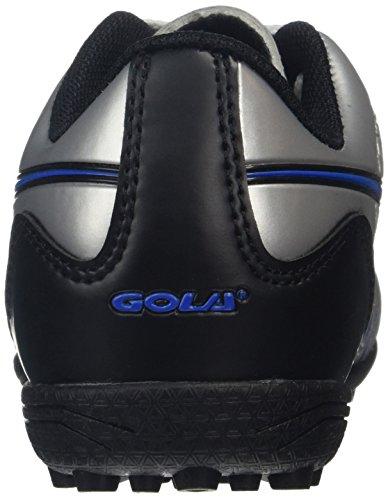 Gola Jungen Ion Vx Fußballschuhe Silber (Silver/Blue)