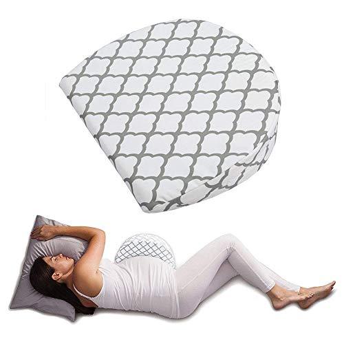 szlsl88 Tragbar Schwangerschaft Kissen Keil für Schwangerschaft, Schwangerschaft Boby Kissen, Taille Unterstützung Kissen Entlastung Schmerzen Praktische Keil Form Bein Kissen für Schwangerschaft -